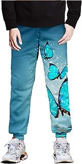 Farfalla 3D Stampato Pantaloni Jogger Donna Uomo Streetwear Pantaloni Lunghi Harajuku 2021 Plus Size