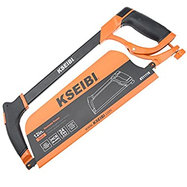 KSEIBI High-Tension Rubber Grip Hacksaw 12-Inch (PRO)