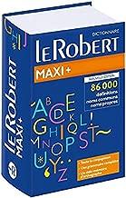 Dictionnaire Le Robert maxi + 2018 dictionnaire de la langue francaise (French Edition)