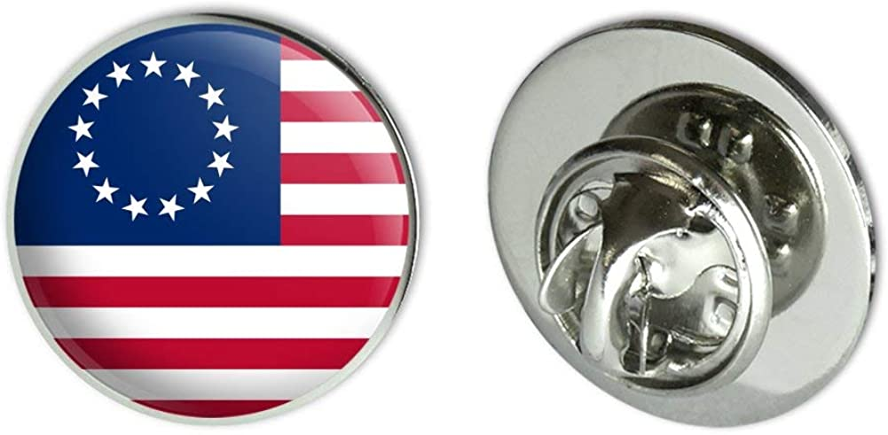 GRAPHICS & MORE Betsy Ross 1776 American Flag Metal 0.75