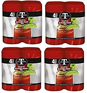 Mr & Mrs T Original Bloody Mary Mix, 5.5 oz cans (16 cans)