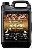Dirtbusters Eco Wood Wash - Limpiador de Madera Natural y jabonosa para Todos los Suelos de Madera y Madera, 5 litros