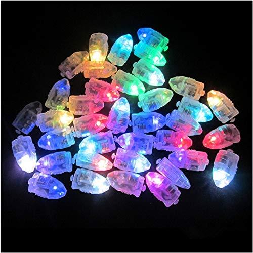 Preisvergleich Produktbild Meerveil 50 stücke Multi-bunte LED Lampe Lichter Ballons Mini Runde Ball Licht Blitzlampen Für Papierlaterne Ballon Geburtstag Weihnachtsfeier Dekoration Beleuchtung