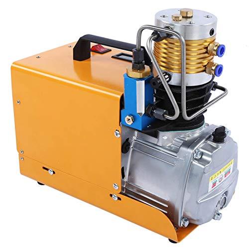 01 Inflador de neumáticos, compresores de Aire eléctricos estacionarios, Bomba de neumáticos de Alta presión, Juego Integrado, Salpicaduras de Aceite(220V European Standard)