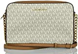 Michael Kors Women's Jet Set Item Lg Crossbody, Vanilla, Large