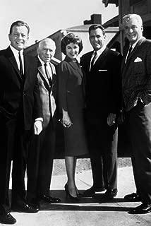 Perry Mason Raymond Burr Barbara Hale & Cast 24x36 Poster