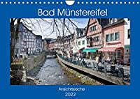 Bad Muenstereifel - Ansichtssache (Wandkalender 2022 DIN A4 quer): Spaziergang durch das beschauliche Bad Muenstereifel (Monatskalender, 14 Seiten )