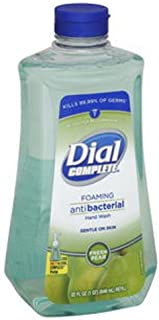 Dial Complete Foaming Anti-bacterial Hand Wash Soap Refill, Fresh Pear, 40 Ounce