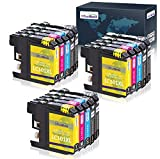 OfficeWorld Compatible Ink Cartridges Replacement for Brother LC101 LC101XL LC103 LC103XL, Work with Brother MFC-J470DW MFC-J475DW MFC-J870DW MFC-J875DW MFC-J6920W(15 Pack)