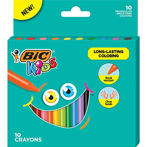 BIC Kids Triangular Crayons