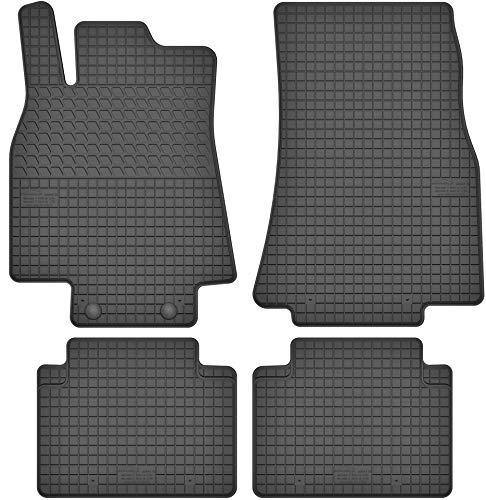 Motohobby Gummimatten Gummi Fußmatten Satz für Mercedes-Benz A-Klasse W169 (04-12) / B-Klasse W245 (05-11) - Passgenau