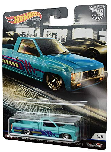 Hot Wheels Car Culture Custom '93 Nissan Hardbody (D21) 4/5, Blue
