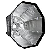 Godox SB-UE Softbox, Softbox octogonal portátil de 80 cm con soporte Bowens para flash