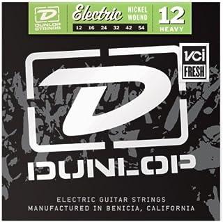 DEN1254 niquelado acero pesado de la guitarra eléctrica Conjunto de 6 cuerdas, ,012-