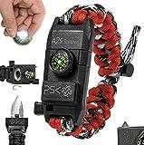PSK Paracord Bracelet 8-in-1 Personal Survival...
