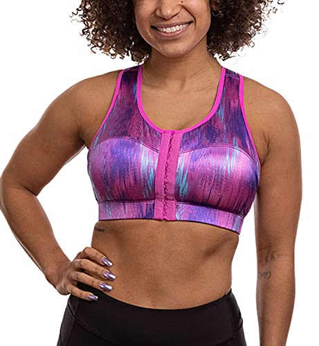 ENELL High Impact Sports Bra (100),1,Cotton Candy