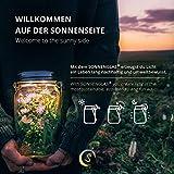 SONNENGLAS® Solarlampe / Solar-Laterne im Einmachglas - 2