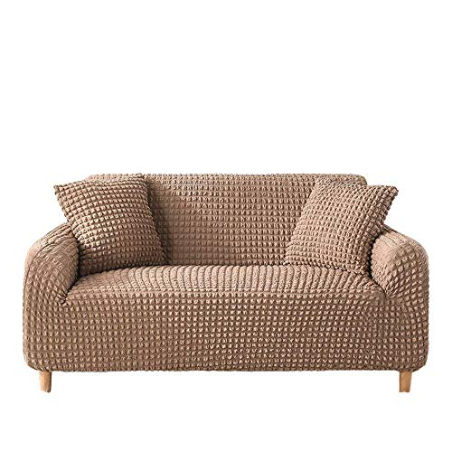 Funda de sofá Funda de sofá Universal para Sala de Estar Funda de sofá Estirable Funda de 1/2/3/4 Asiento Fundas universales LoveSeat de 1 Pieza,Colour11,1 Seater 90-140cm