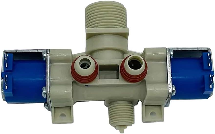 MMingx Parte De La Lavadora Compatible con LG Válvula De Entrada De Agua De Lavadora T60 T70MS33PDE T80MS33PD T80MS33PDE T80MS33PD1 XQB60 AJU72911004 12V IV-12A-1 (Size : Dishwasher Part)