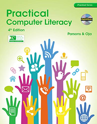 Compare Textbook Prices for Practical Computer Literacy with CD-ROM New Perspectives 4 Edition ISBN 9781285076775 by Parsons, June Jamrich,Oja, Dan