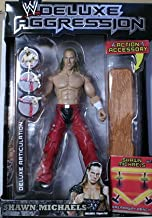 W Deluxe Aggression Series 12 Action Figure + Action Accessory - Shawn Michaels