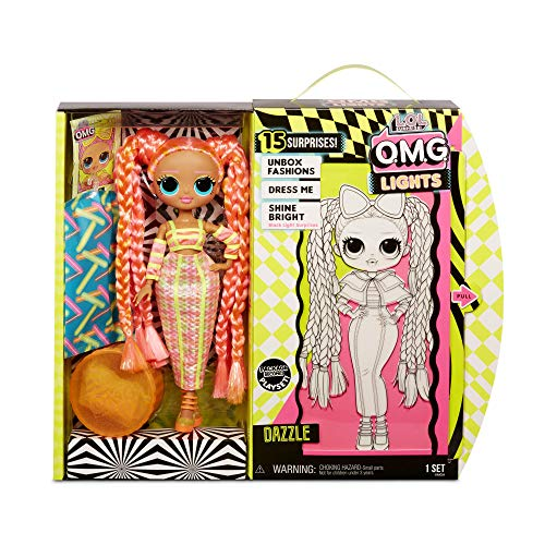 MGA Entertainment LOL Surprise! O.M.G. Lights Dazzle Fashion Doll with 15 Surprises