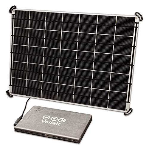 Voltaic Systems 17W Solar Panel with V72 Battery for charging Laptops, Tablets & USB Devices …