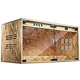 爬虫類の熱保存ボックス、ペットショップヤモリヘビクモ動物ボックス-ウォッチハリネズミトカゲカメレオンペットの巣の飼育 (Size : 120*55*55CM)