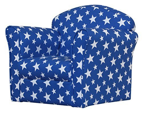 Kids Mini Armchair - Blue/White Stars