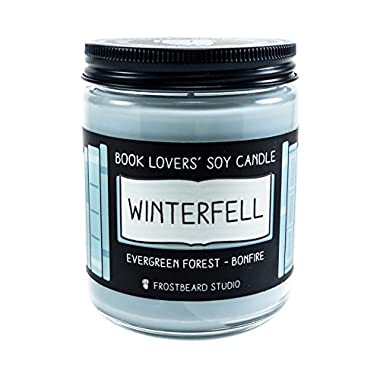 Winterfell - Book Lovers' Soy Candle - 8oz Jar
