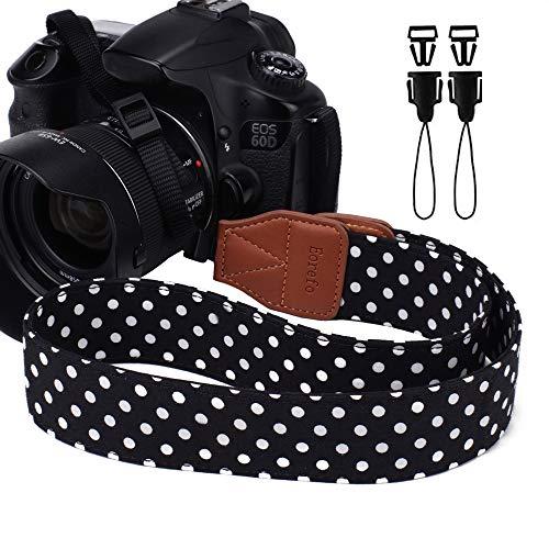 Camera Strap Eorefo Women Camera Neck Strap for Mirrorless and DSLR Camera