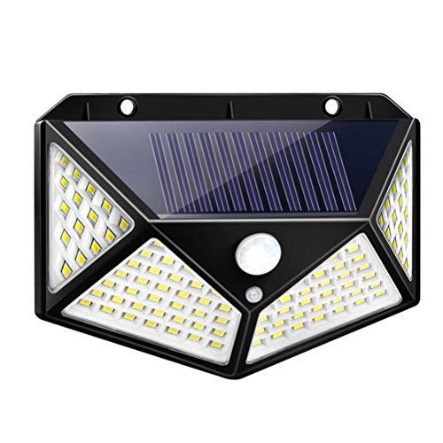 JJZXD Lámpara Solar Al Aire Libre De Luz Solar con Movimiento Luz Solar LED Luz Solar Impermeable para Decoración De Jardín (Size : 2 Piece 102 Leds)