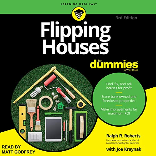 Page de couverture de Flipping Houses for Dummies, 3rd Edition