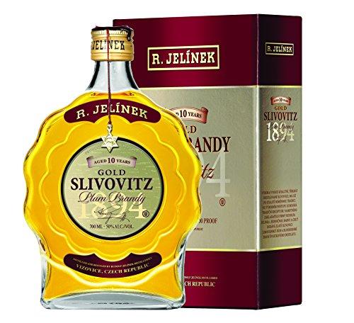 R.Jelinek, Original Czech destilleries, Slivovice Gold KOSHER 10YR 0.7 l, 50%