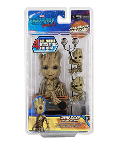 Neca Guardians of The Galaxy Vol. 2 Geschenk Set Groot Limited Edition