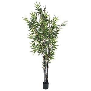 Pure Garden 50-10015 5 Foot Japanese Bamboo Artificial Tree, 5′