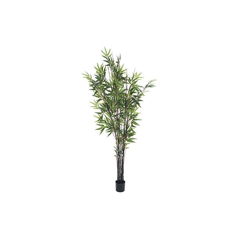 silk flower arrangements pure garden 50-10015 5 foot japanese bamboo artificial tree, 5'