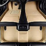 LUVCARPB Alfombrillas para el Interior del Coche, aptas para Nissan X-TRAI Qashqai GT-R Fuga Quest D22 Geniss Note Murano March Teana Tiida Almera