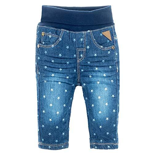 Feetje Baby-Jungen Jeans Slim fit Winter Denim - gefütterte Jeans, Blue Denim, 74
