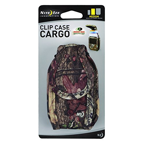 Nite Ize Clip Case Cargo Phone Holster - Protective, Clippable Phone Holder For Your Belt Or Waistband - Medium - Mossy Oak