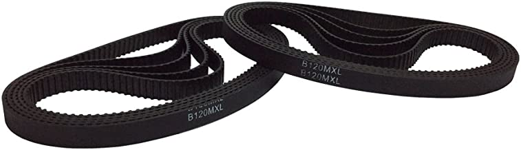 449.072mm BEMONOC B221MXL Timing Ring Belt Tooth 221 Width 0.236 inches Conveyor Belt in Closed Loop 2Pcs//Pack Length 17.68 inches 6mm