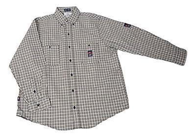 Men's KK Fire Retardant Long Sleeve Dress Shirt FR Shirt