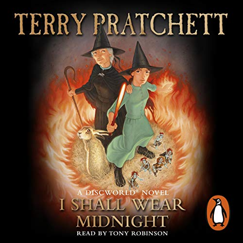 I Shall Wear Midnight audiobook cover art