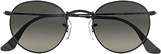 FIKO - Round-Metal - Gafas de Sol Polarizadas para Hombre y Mujer estilo Vintage Gafas de Sol Redondas Marco de Metal - Gafas de Sol Clásica estilo Retro Circular Unisex Protección UV400