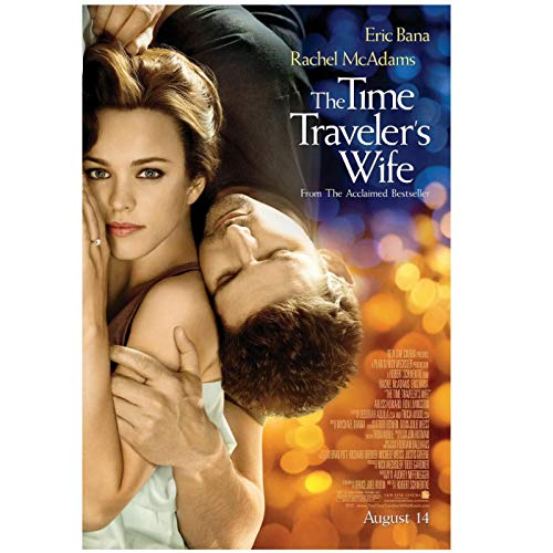 The Time Traveler's Wife (2009) Posters e impresiones Póster de película Art Stills Decoración Sala de estar Dormitorio Impresión de lienzo en la pared -20x28 pulgadas Sin marco