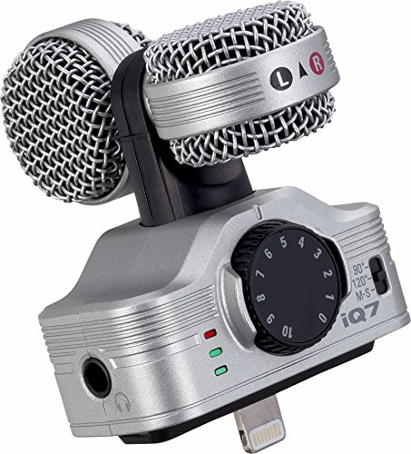 Zoom Mid-Side Stereo Microphone for iOS Devices