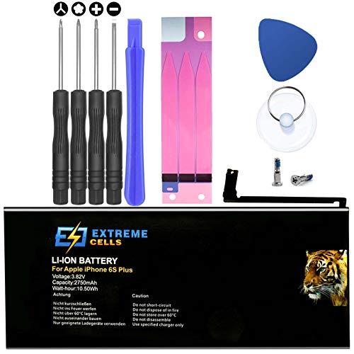 Extremecells Akku Ersatzakku inkl. Werkzeug Set kompatibel mit iPhone 6S Plus Batterie
