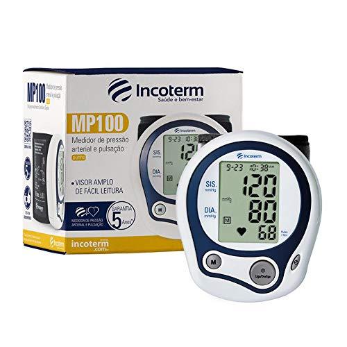 Aparelho de Pressão Digital Automático de Pulso - MP100 Incoterm