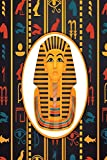 Notes: Egyptian Hieroglyphics Tutankhamun / Medium Size Notebook with Lined Interior, Page Number and Daily Entry Ideal for Organization, Taking Notes, Journal, Diary, Daily Planner