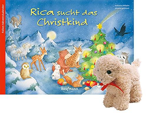 Rica sucht das Christkind mit Stoffschaf: Ein Adventskalender zum Vorlesen und Gestalten eines Fensterbildes (Adventskalender mit Geschichten für Kinder: Ein Buch zum Vorlesen und Basteln)